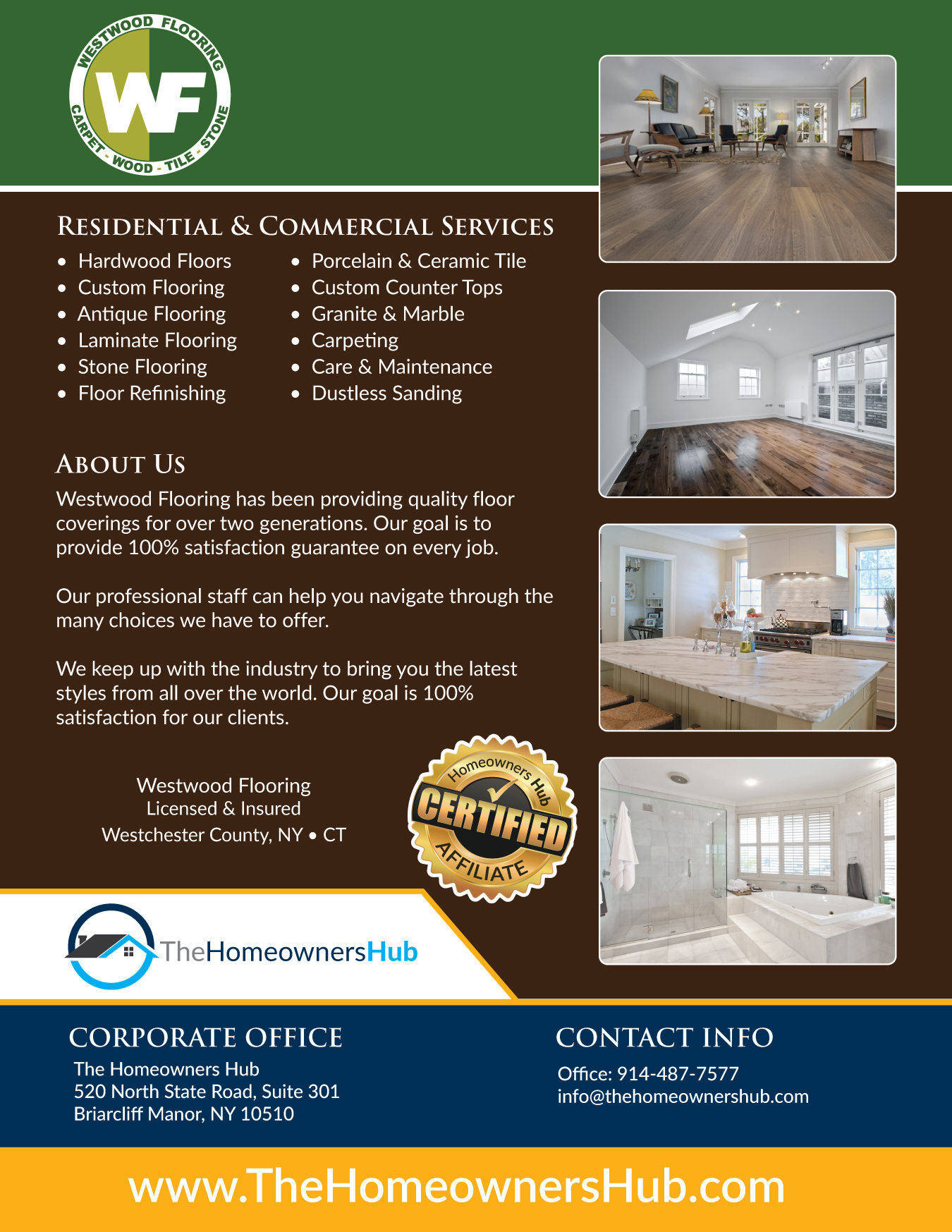 Westwood Flooring Services